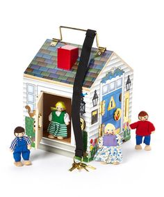 Another great find on #zulily! Melissa & Doug Doorbell House by Special Needs #zulilyfinds