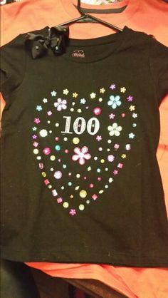 100 gemstones for 100 days of school