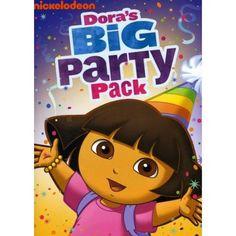 Dora The Explorer: Dora's Big Party Pack (Full Frame) - Walmart.com