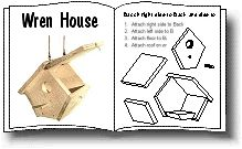 Birdhouses  & Woodworking Birdhouse Plans--the kids might like this