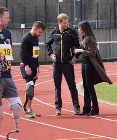 Meghan Markle and Prince Harry: UK Team trials for the Invictus Games Sydney 2018 -35