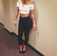 Fitness inspiration: Cute crop tops with jeans