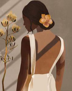 Abstract Face Art, Black Women Art, Portrait Illustration, Minimalist Art, Aesthetic Art, Cartoon Art, Female Art, Art Girl, Amazing Art