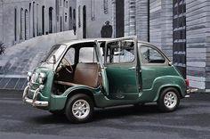 Fiat 600 Multipla Microvan | Cars show