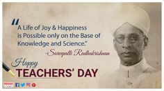 On this auspicious occasion let's take a moment to cherish the #teachers who taught us the lessons of life. Here's to the great people who lay the foundation of our building blocks.