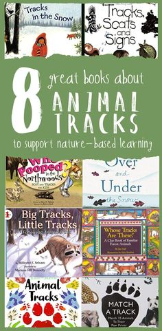 Eight Great Books about Animal Tracks to Support Nature-Based Learning — from Wonderkin. These eight great books pair nicely with our animal track themed Wonderkin Box and provide the perfect jumping off point for hours of tracking-inspired nature study a Nature Activities, Science Activities, Homeschool Books, Homeschooling, Forest Book, Preschool Science, Nature Based Preschool, Montessori Science, Animal Books