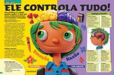 Ilustrações de massinha para a revista Recreio on Behance