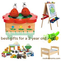 Great birthday presents for a two-year old | But PLEASE don't pay full price...they are going to be played with by a two-year old | RookieMoms.com