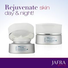 Personalize your own routine with Time Dynamics Day and Night creams. http://jafra.me/7tb http://jafra.me/7tc