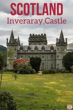 Scotland Travel - Discover the magnificent fairy-tale castle of Inveraray with green walls and enchanting gardens - photos, video, and planning tips | #Scotland | Scotland castles | Scotland things to do