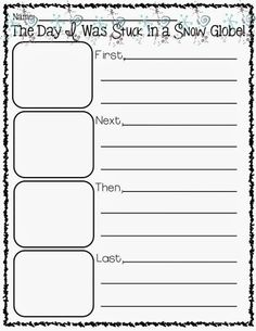 If i were in a snow globe writing prompt and graphic organizers stuck activity kindergarten worksheets . Procedural Writing, Narrative Writing, Teaching Writing, Writing Activities, Teaching Career, Winter Activities, Writing Ideas, Sentence Writing, Teaching Strategies
