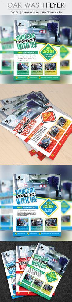 Car Wash Logo Templates Car wash, Logo templates and Templates - car wash flyer template