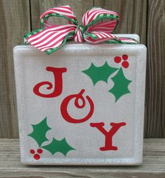 Here are 19 ideas for making your own decorated glass blocks, including a tutorial on how I made mine, and what supplies you will need.