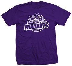Shirt Kong: #club #clubshirts #tshirt #mindbot #robot #schoolwear #spiritwear #screenprinting #purple