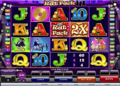A pack of rats dwell in their tiny world where they dance, sing and make merry! Play The Rat Pack slots at Vegas Paradise with a sign up bonus of £5 and win big