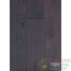 "ROYAL OAK COLLECTION, SMOKED KONA DMSR-05, 7.5"" WIDE, LONG PLANK, KLUMPP OIL FINISHED HARDWOOD FLOORING"