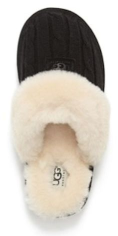 cozy knit UGG slippers rstyle.me/...