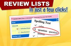 SpellingCity.com is an online activity that allows students to master their spelling words.