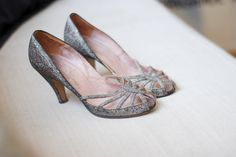 #shoes Vintage shoes slightly sparkly