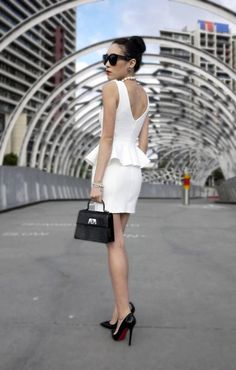 Outfit Post – Bringing Peplum Back by