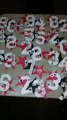 69 New Ideas Hotel Door Signs Cheerleading Football Locker Signs, Soccer Locker, Sports Locker, Baseball Signs, Sports Signs, Sports Mom, Locker Room Decorations, Football Locker Decorations, Hockey Decor