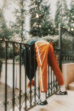 just hangin around Fashion Photography Inspiration, Photoshoot Inspiration, Accel World, Street Portrait, Orange Aesthetic, Flower Boys, Boku No Hero Academia, Character Inspiration, Portrait Photography