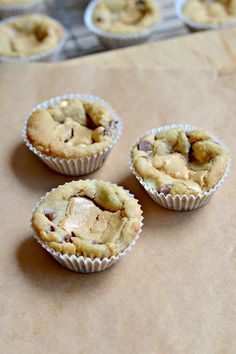Chocolate Chip Cookie Cups with PB Ganache. Hi everyone! I'm really excited to be doing a guest post for Lisa today (my first ever!) Sweet 2 Eat Baking was one of the first blogs I started following before taking t...