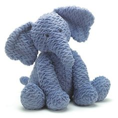 JELLYCAT ~ FUDDLEWUDDLE BLUE ELEPHANT ~ stuffed animal (NEW) #Jellycat stores.ebay.com/thegingerbreadcollection