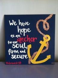 canvas painting ideas with bible verses - Google Search Bible Verse Art, Bible Quotes, Hand Painted Canvas, Canvas Art, Canvas Ideas, Canvas Paintings, Diy Canvas, Hebrews 6, Decir No