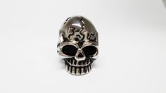 Anillo Cracked Skull en Acero Inoxidable Tallas 8, 9 y 10