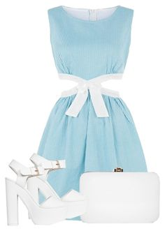 333 by amota-2014 on Polyvore featuring polyvore, fashion, style, Cutie, Nly Shoes and Rocio