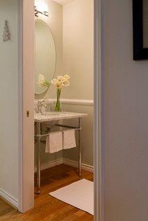 Powder Room - Traditional - Powder Room - portland - by MaryEllen Kowalewski Architect