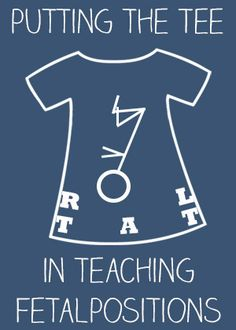 """BABE Series: Putting the """"Tee"""" in Teaching Fetal Positions - Science & Sensibility"""