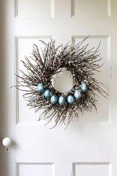 Robin's Egg Wreath