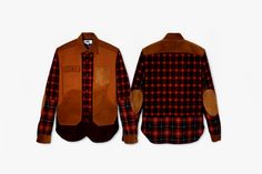 Two of our favorite brands - eYe COMME des GARCONS JUNYA WATANABE MAN and Pendleton - have joined forces to create these rad hipster lumberjack shirts.