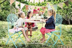 """A few weeks ago I worked with the very talented Crave photography to style a set for a """"PaRty in the orchard"""" shoot she was doing. Happy 5th Birthday, Tea Party Birthday, Décoration Baby Shower, Girls Tea Party, Festa Party, Party Party, Summer Parties, Tea Parties, Perfect Party"""