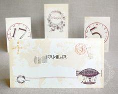 """Place-card / plic de bani nunta cu tema Calatorii – """"LIBORIA"""""""