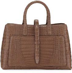 Alligator handbag and crocodile handbag for sale, all our genuine alligator leather handbags, crocodile leather handbags are handcrafted by professional craftsmen. Leather Box, Leather Handbags, Crocodile Handbags, Womens Designer Bags, Nancy Gonzalez, Handbags On Sale, Purses And Bags, Pouch, Reusable Tote Bags