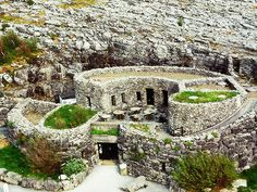 Aillwee Cave Entrance, Burren, County Clare, Ireland