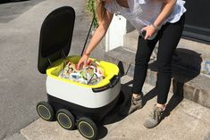 The Brave New World of Robotic Pizza Delivery is Almost Here