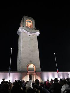 Australian War Memorial Villers-Brettenoux France, Anzac Day Dawn Service 25/4/13