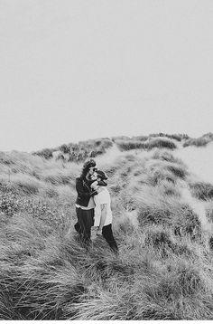 Amy und Tom, Paarshooting am Strand von Liverpool von Roland Faistenberger - Hochzeitsguide