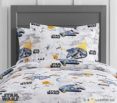 Star Wars(TM) Millennium Falcon(TM) Duvet Cover, Twin