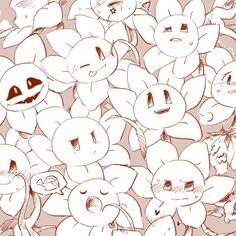 Flowey Undertale, Flowey The Flower, Cute Friends, Indie Games, Funny Comics, Cute Pictures, Snoopy, 6th Anniversary, Kids Rugs