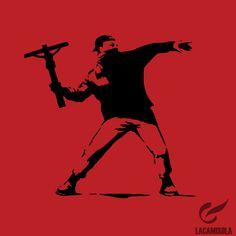 Banksy crucifijo.