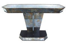 | Timeless design, golden detailing and luxury are the names of the glorious Art Deco style. | http://modernconsoletables.net/incredible-art-deco-console-tables/ | #artdeco #interiordesign
