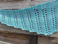 Kriskrafter: Free Knitting Pattern!  Wiggle Lace Scarf  Worsted weight, 10 1/2 needles