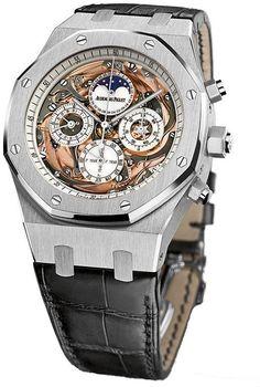 Royal Oak Grande Complication Automatic White Gold Men's Watch