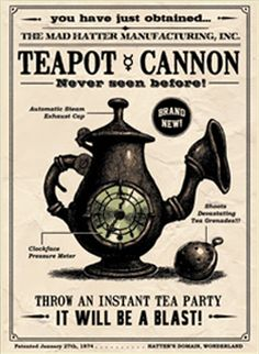Teapot Cannon - American McGee's Alice Wiki - Madness Returns!