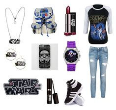Star Wars by monster1608 on Polyvore featuring polyvore interior interiors interior design home home decor interior decorating Current/Elliott adidas R2